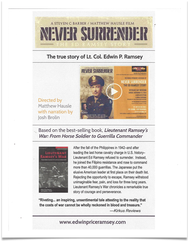 Ads for the Documentary and Book Appearing in American Library Association Media