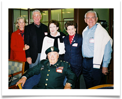 Adm. Lee & Roz Levenson, Suzanne Ward, Raqui and Ed