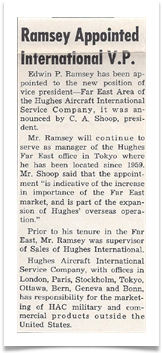 From the Hughes News, October 11 1963