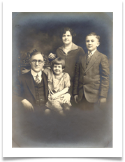 Mother's Brother Dr. John Cozad and Family